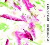 watercolor seamless pattern... | Shutterstock . vector #1046397055