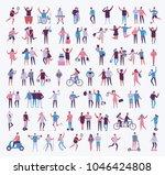 big set of vector illustration... | Shutterstock .eps vector #1046424808