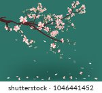 Watercolor Sakura Frame....
