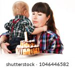 the child refuses to eat the...   Shutterstock . vector #1046446582