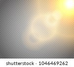 sunshine vector effect isolated ... | Shutterstock .eps vector #1046469262