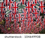 Union Jack Flags In Covent...