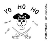 Hand Drawn Funny Jolly Roger ...
