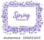 tender floral summer or spring... | Shutterstock .eps vector #1046521615