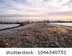 the gorgeous purple color sky...   Shutterstock . vector #1046540752