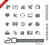 Communication Icons    Basics
