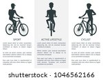 sport active lifestyle and... | Shutterstock .eps vector #1046562166