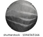 abstract black and white dotted ... | Shutterstock . vector #1046565166