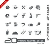 Food Icons   Set 2 Of 2   ...