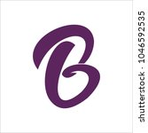 b logo design