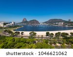 view of botafogo beach with the ... | Shutterstock . vector #1046621062