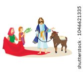 holy week good friday ... | Shutterstock .eps vector #1046621335