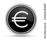 euro black button with silver...