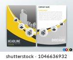 a4 size  abstract modern...   Shutterstock .eps vector #1046636932