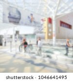 people visit a trade show.... | Shutterstock . vector #1046641495
