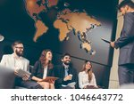 business people waiting for a... | Shutterstock . vector #1046643772