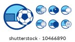 vector illustration of a sport... | Shutterstock .eps vector #10466890