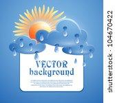 illustration on the theme of... | Shutterstock .eps vector #104670422