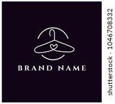 fashion logo design. clothing... | Shutterstock .eps vector #1046708332