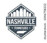 nashville tennessee usa travel...   Shutterstock .eps vector #1046758222
