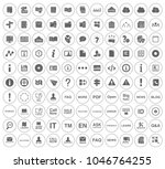 information icons set   info... | Shutterstock .eps vector #1046764255