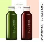 smoothie pressed juice | Shutterstock .eps vector #1046815252