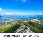 Beautiful landscape of Montenegro from Mount Lovcen