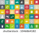 vector collection or set of law ... | Shutterstock .eps vector #1046864182