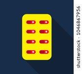 pill . medical capsule ...   Shutterstock .eps vector #1046867956