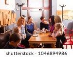 women and children having a...   Shutterstock . vector #1046894986