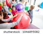 mothers and children | Shutterstock . vector #1046895082