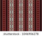 red sadu traditional bedouin... | Shutterstock . vector #1046906278
