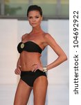 new york   may 06  a model... | Shutterstock . vector #104692922