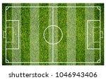 grass of a soccer field....   Shutterstock . vector #1046943406