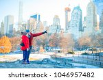 family of father and kid in...   Shutterstock . vector #1046957482