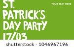 st. patrick's day banner.... | Shutterstock .eps vector #1046967196