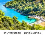 island of brac in croatia ... | Shutterstock . vector #1046968468