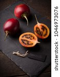 Cloesup Of Tamarillo Fruits On...