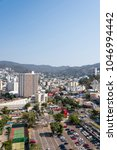 Small photo of ACAPULCO, MEXICO - CIRCA MARCH 2018: Panoramic view of Acapulco City.