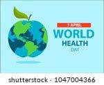world health day concept ....   Shutterstock .eps vector #1047004366