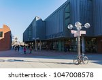 cologne  germany   february 24  ... | Shutterstock . vector #1047008578