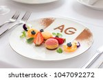 the view of french food | Shutterstock . vector #1047092272