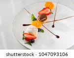 the view of french food | Shutterstock . vector #1047093106