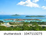 Small photo of Panoramic View on Eden Island, Victoria, Seychelles