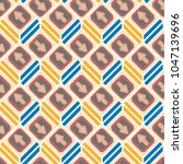 seamless abstract pattern with... | Shutterstock .eps vector #1047139696