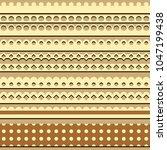 lace ribbon textile motives  | Shutterstock .eps vector #1047199438