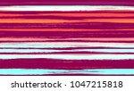 textile striped vector seamless ... | Shutterstock .eps vector #1047215818