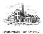 Industrial Distillery Factory....