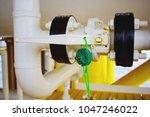 gas process valve isolation... | Shutterstock . vector #1047246022