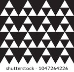 vector seamless simple... | Shutterstock .eps vector #1047264226